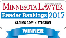 Rust Consulting, Inc Minnesota Lawyer Claims Administration 2017 Winner
